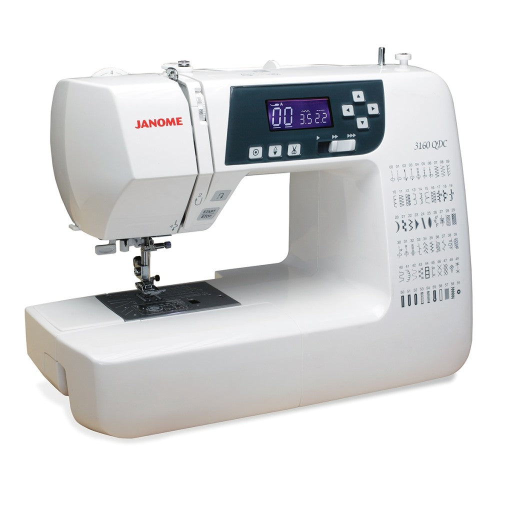 JANOME COMPUTERISED SEWING MACHINE 3160QDC