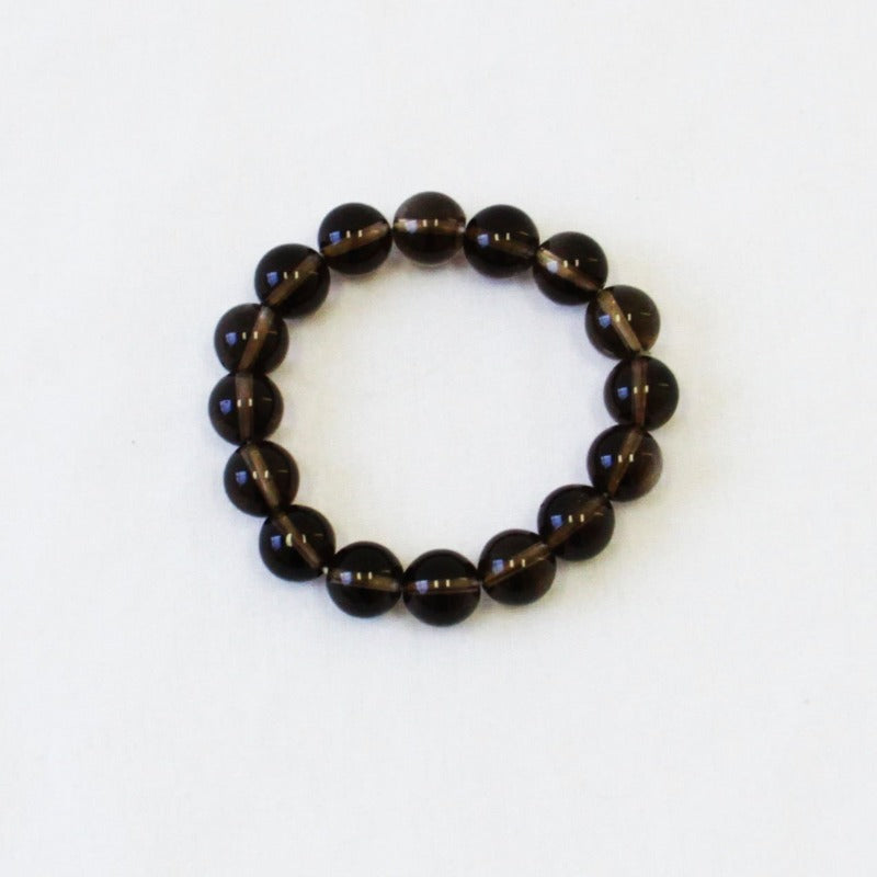 Champagne Brown Crystal Bead Bracelet