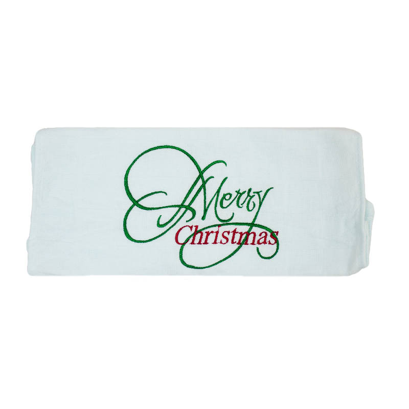 Personalised Embroidered Face Towel (30 - 45 days lead time)