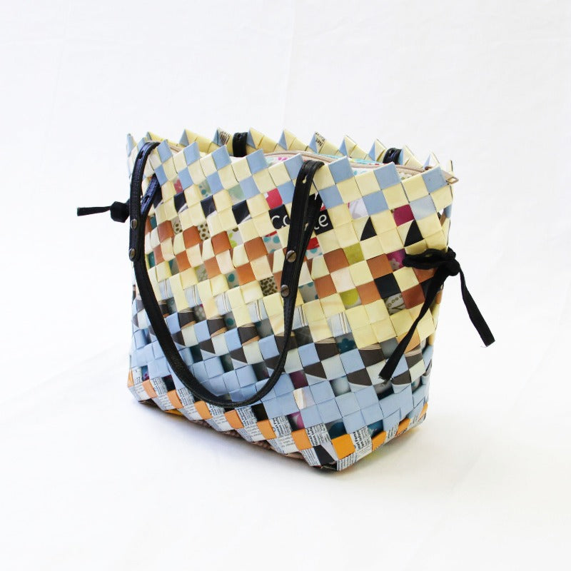 Upcycle Crosstich Bag