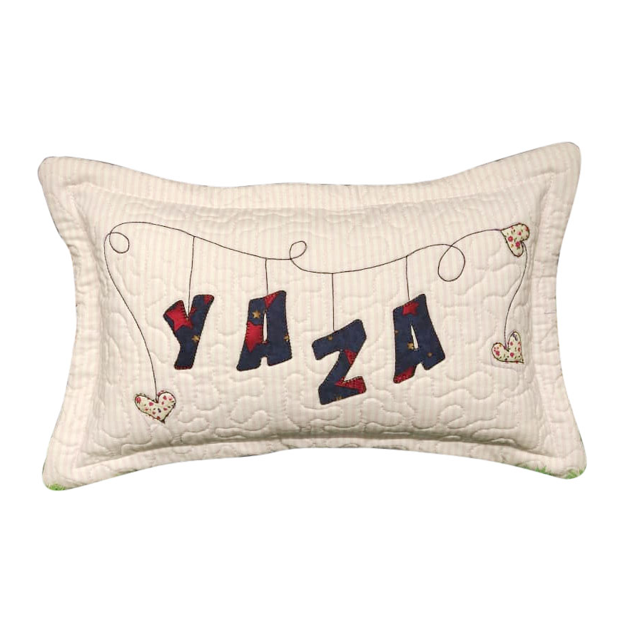 Alphabet Applique Pillow Material Pack
