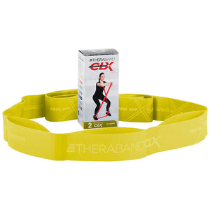 TheraBand® CLX Resistance Band | Consecutive 11 Loops Yellow