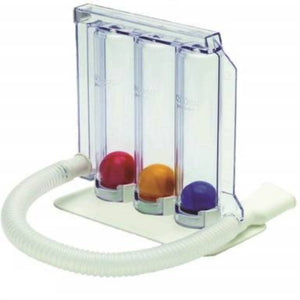 Spirometer 3-Ball-in-1 Upper Respiratory Exerciser