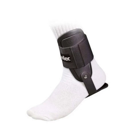 MUELLER BRACE ANKLE LITE BLACK -one size fits most