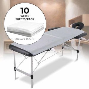 Disposable Bed Sheets - Pack of 10
