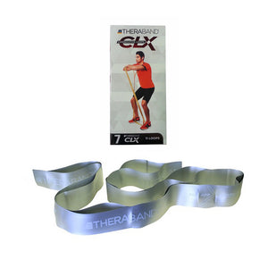 TheraBand® CLX 11 Loops Silver | Resistance Band