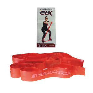TheraBand® CLX 11 Loops Red | Resistance Band