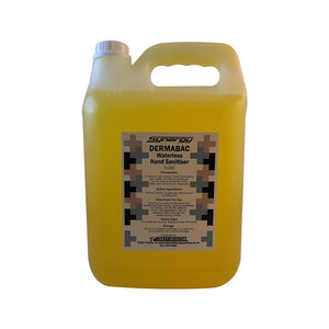DERMABAC - Waterless Hand Sanitiser 5L