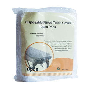 Disposable Fitted Table Cover (Pack of 10)