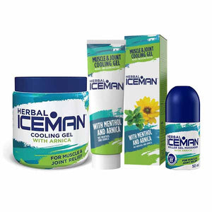 Herbal IceMan Cooling Gel
