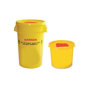 Medical Sharps Waste Bin