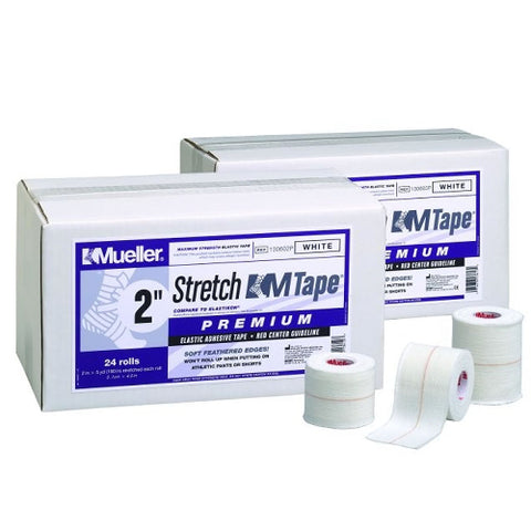 Mueller M-Tape Stretch Premium 7.5cm x 4.5m WHITE