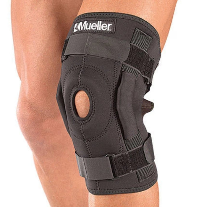 Mueller Knee Hinged Wraparound Brace Old Code