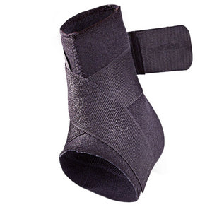 Mueller Neoprene Blend Ankle Support with Straps (Black)