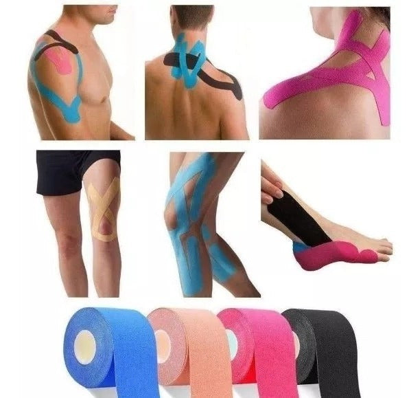 MXM : 5m x 5cm Synthetic Kinesiology Tape