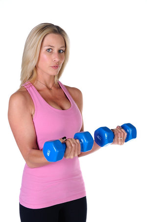 Plastic Coated Dumbbells