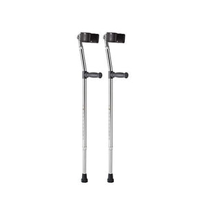 Elbow Crutch with Black PLASTIC GRIP