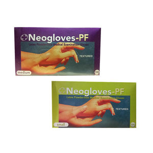 Medical Latex Gloves Powder Free