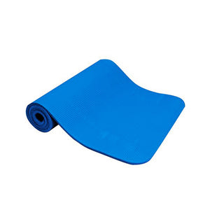 180cm x 100cm x 1.5cm - Blue Exercise Mat