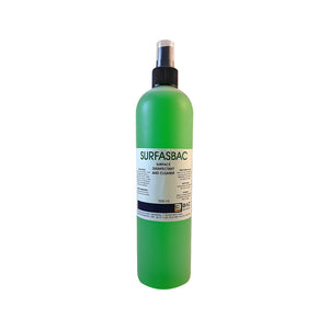 500ml SURFASBAC - Surface Disinfectant And Cleaner