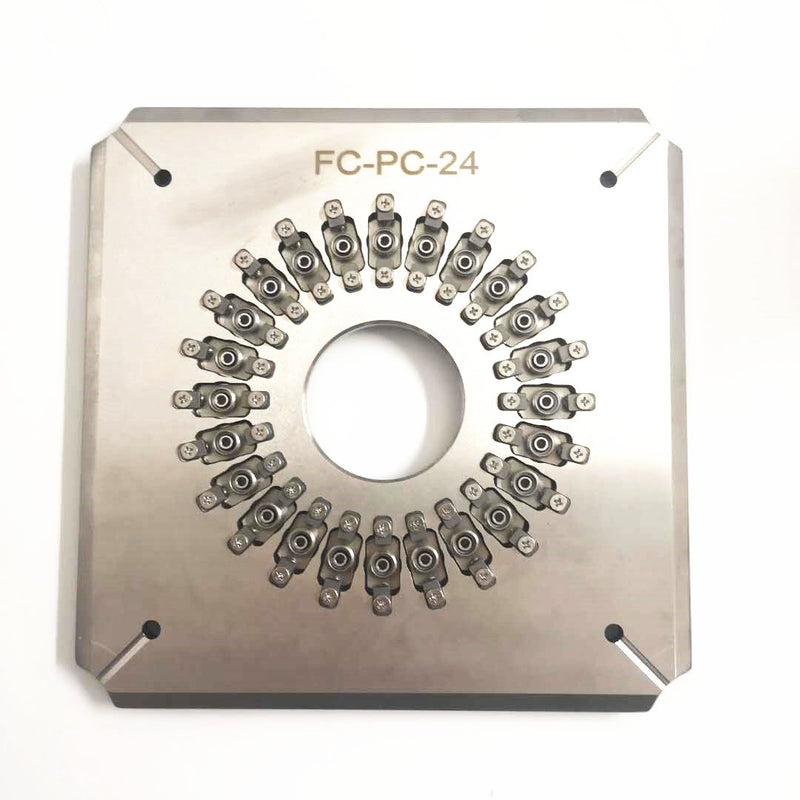 FC/PC 24 Port Fiber Polishing Fixture