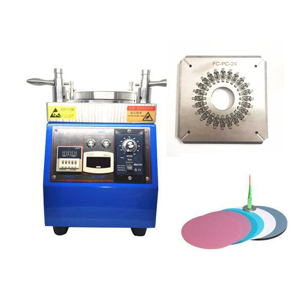 Fiber Optic Polisher Combination (Fiber Polishing machine+Fixture+Film) )