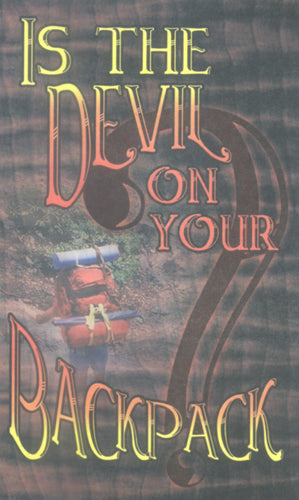 Is the Devil on Your Backpack?