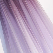 Load image into Gallery viewer, Unique A Line Ombre Purple Beading Prom Dresses with Lace up Long Dance Dresses XHMPST15603