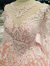 Load image into Gallery viewer, 2020 New Arrival Wedding Dresses Lace Up With Appliques And Beading Lace XHMPST14703