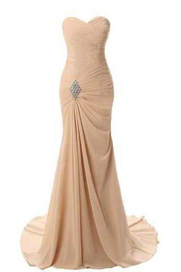 Sweetheart Mermaid Long Evening Dress Formal Prom Gowns Prom XHMPST14184