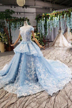 Load image into Gallery viewer, Light Sky Blue Gorgeous Prom Dress XHMPST14727