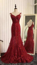 Load image into Gallery viewer, Stunning Mermaid Prom Dresses Uk with Lace XHMPST14128
