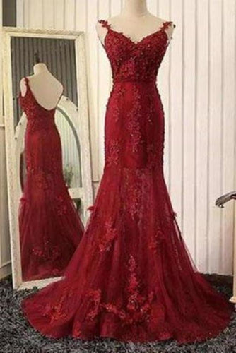 Stunning Mermaid Prom Dresses Uk with Lace XHMPST14128