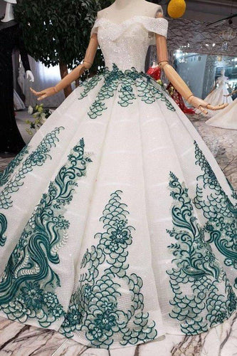 White Ball Gown Off the Shoulder Beads Sweetheart Quinceanera Dresses with XHMPST14482