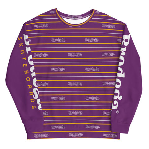 Bars & Stripes / Sweatshirt - Brodega Skateboards