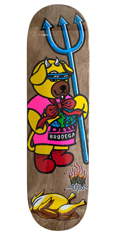 "Tøjdyr / PS / 8.5"" - Brodega Skateboards"