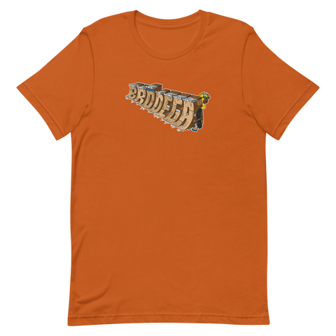 Block Letters / T-Shirt - Brodega Skateboards