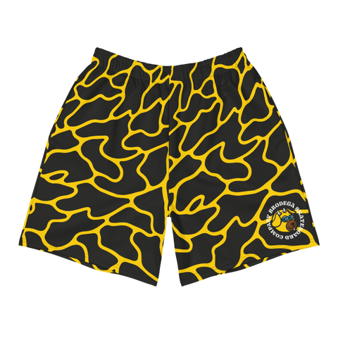 Black & Yellow / Boardshorts - Brodega Skateboards