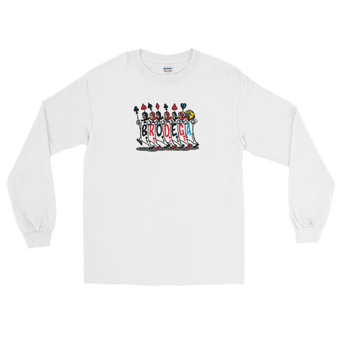 Marching Cards / LS T-Shirt
