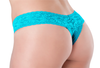 Lace Thong - Caribbean Kiss