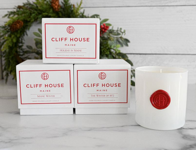 Robes + Mugs + Maine Holiday Candle Package