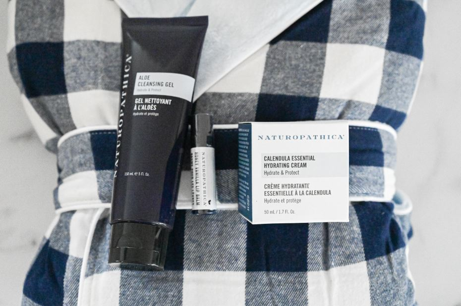 Robe + Winter Skin Care Package