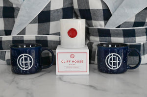 Open image in slideshow, Robes + Mugs + Maine Holiday Candle Package