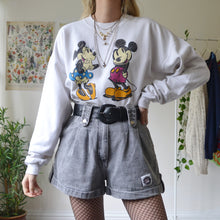 Load image into Gallery viewer, Mickey & Minnie sweatshirt