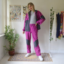 Load image into Gallery viewer, Magenta tracksuit