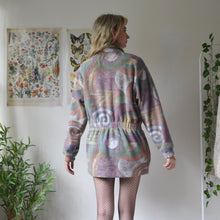 Load image into Gallery viewer, Arty fleece coat