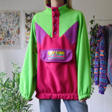 Load image into Gallery viewer, Pink & Green fleece