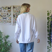 Load image into Gallery viewer, Embroidered black sweatshirt