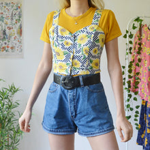 Load image into Gallery viewer, Sunflower bustier top