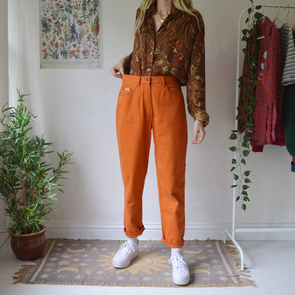 Pumpkin mom jeans 30/31W